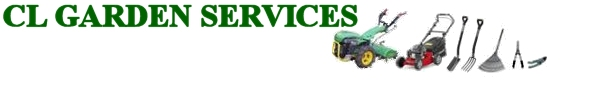 CL Garden Services page header